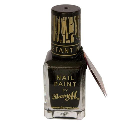 Cracking nail polish barry m