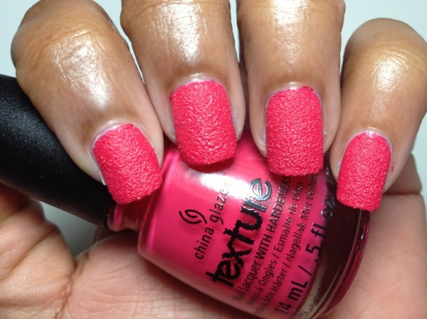Line Texture On Nails : China glaze texture top textured nail polishes to