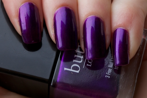 Butter London 3 Free Nail Lacquer in Proper Purple
