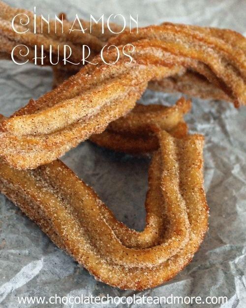 Cinnamon Churros