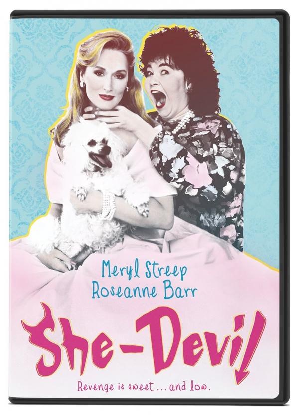 SHE-DEVIL, She-Devil (1989), cartoon, poster, advertising,