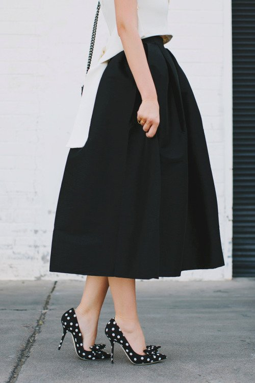 Midi Skirts Are a Classic