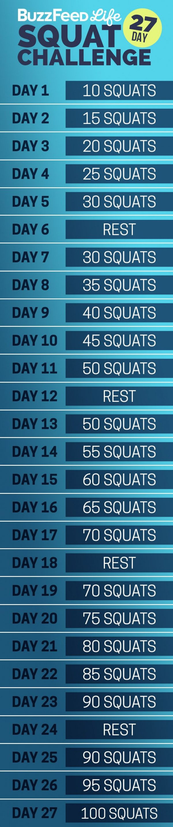 27-Day Squats