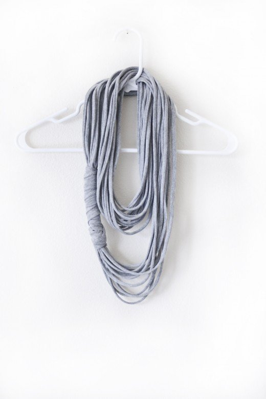 From T-shirt to Multi-Strand Scarf