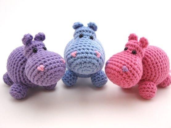 Ippopotamo Amigurumi Crochet : Hippos - 71 Amazing Amigurumi Creations That Youll Fall ...