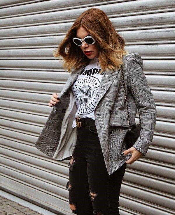 clothing, coat, eyewear, jacket, blazer,