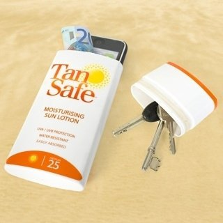 If You're Going to the Beach, Empty out a Lotion Bottle