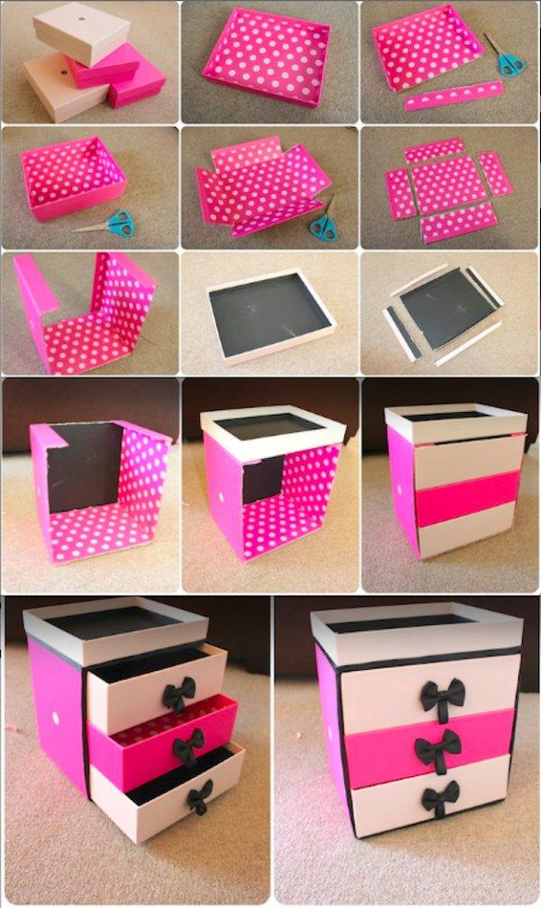 DIY Drawer Storage