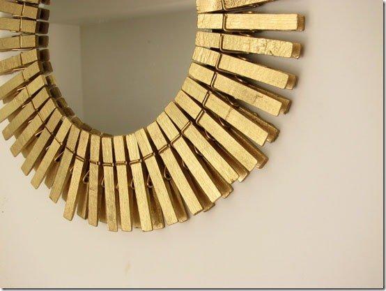 Faire un miroir de style sunburst 7 absolument mignon et for Couper un miroir