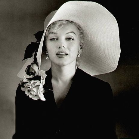 Marilyn Monroe Proving How Timeless an Accessory the Floppy Hat is
