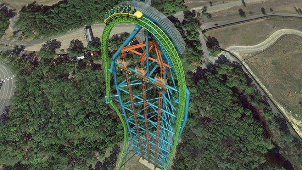 Zumanjaro (Drop of Doom), Six Flags Great Adventure Theme Park, Jackson, New Jersey, USA