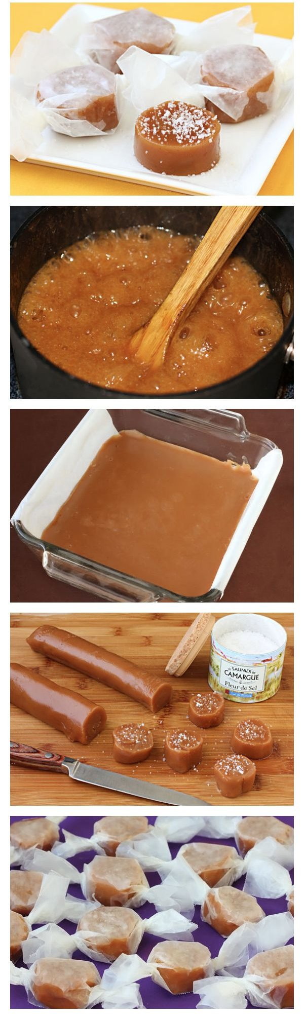 Fleur De Sel Caramels - You Can Make These 26 Candies All by…