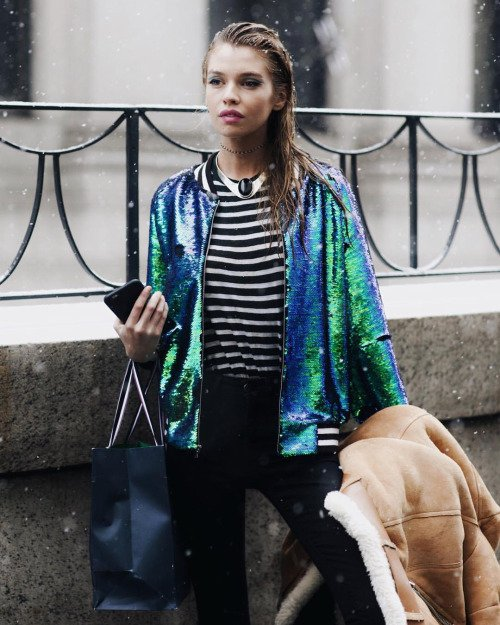 A Sequin Jacket is Perfect Any Time of the Year