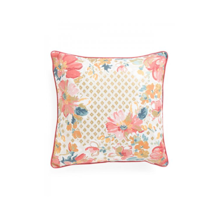 20x20 Metallic Floral Print Pillow by ENVOGUE. $19.99 - 95 Cutest?