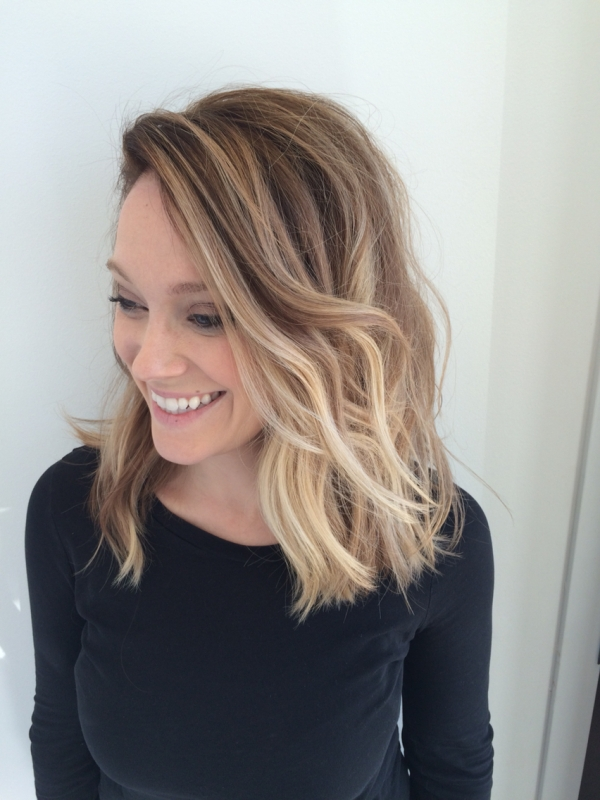 23. Balayage Blonde Ombré - Proof That Balayage Hair Looks Good on…