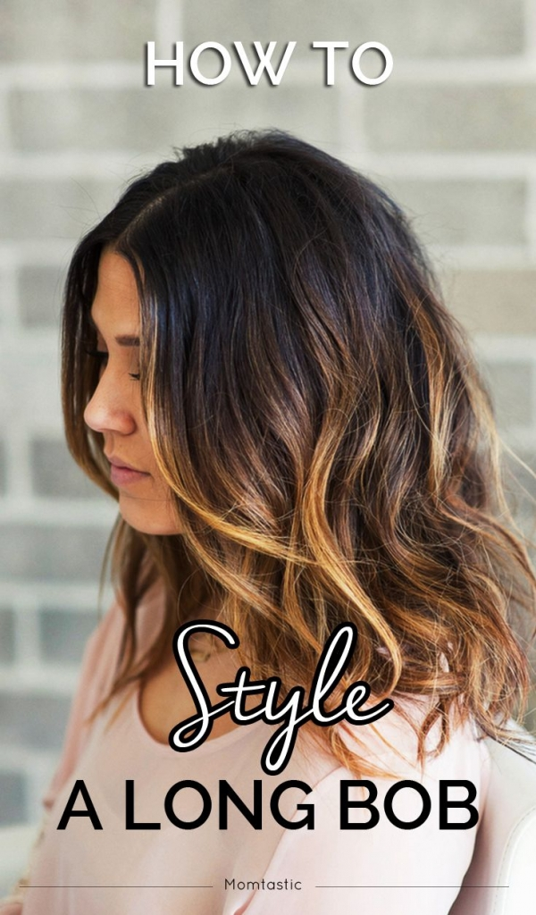 Lob Hair Styles with Wave