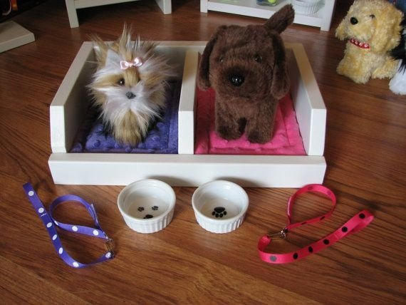 For American Girl Doll 31 DIY Pet Beds Your Furry