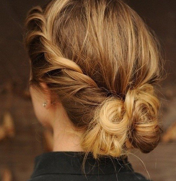 Crown Braid Bun 8 Gorgeous Buns To Try Hair