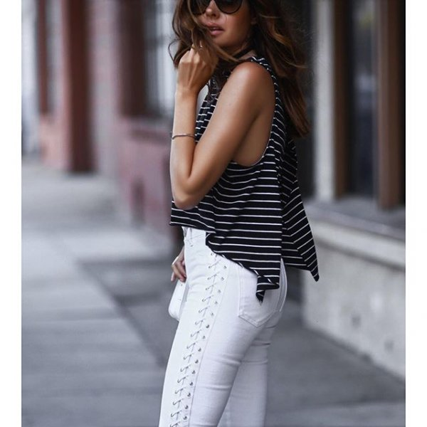 white, clothing, sleeve, jeans, outerwear,