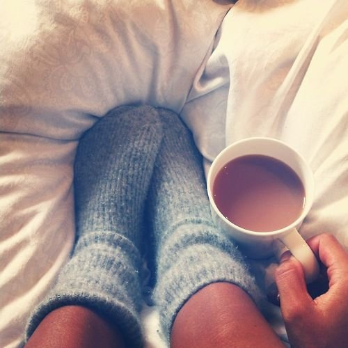 Soak Feet in Tea to Reduce Smell