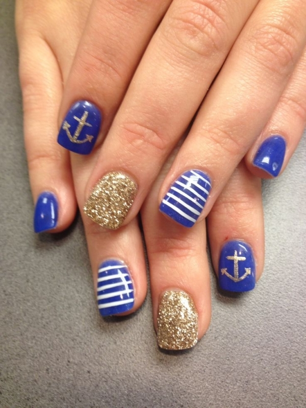 24 Fancy Nail Art Designs That You'll Love