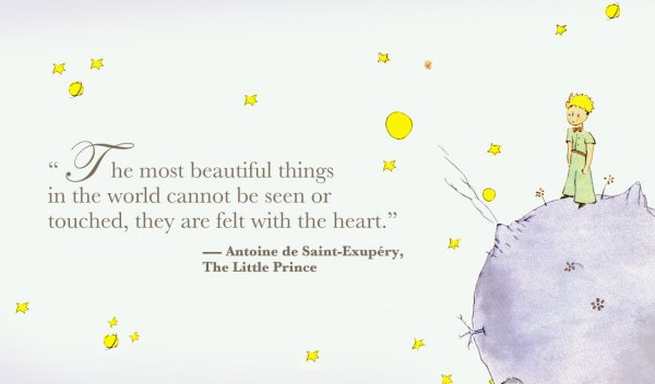 "The 13 Most Beautiful Phrases Of The Little Prince Quotes: 7 Quotes From ""the Little Prince"" That Will Inspire You ... …"