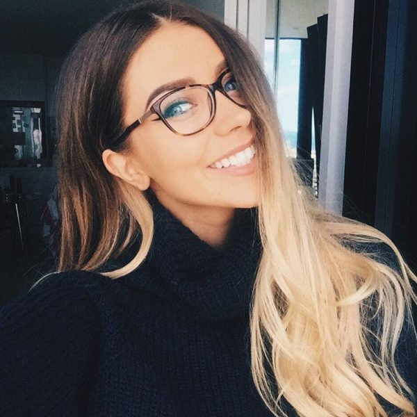 eyewear, hair, human hair color, glasses, face,