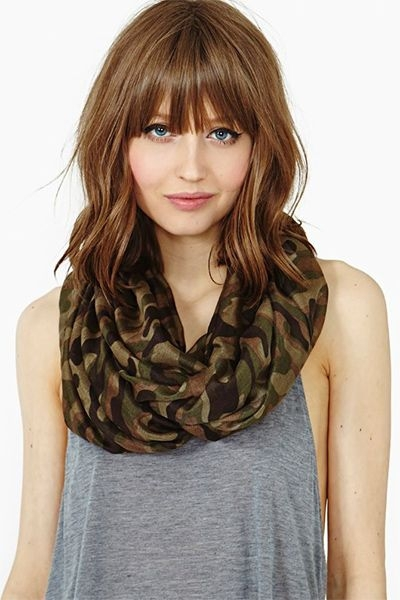 Bangs With Shoulder Length Hairstyle : Choppy bangs with shoulder length hair join the