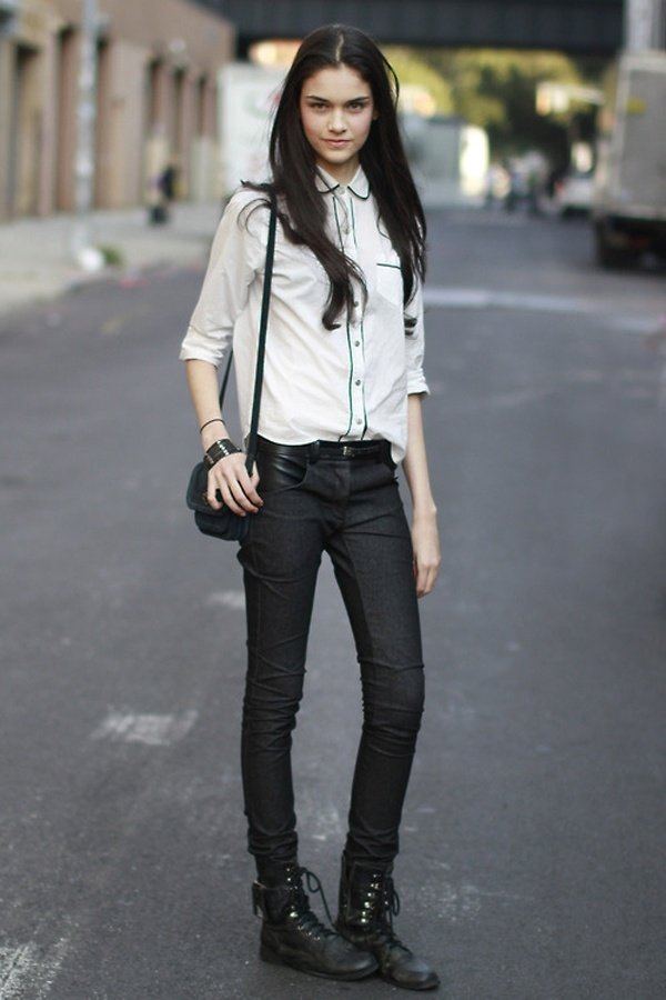7 Street Style Ways to Look Rocker Chic This Summer ... …