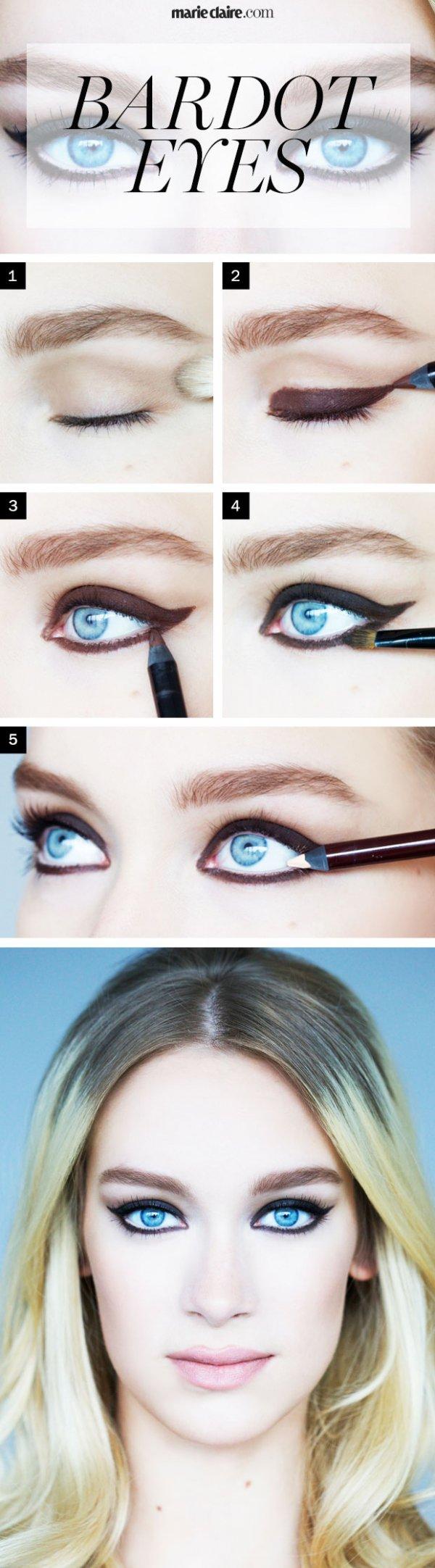 22 eyeliner shapes for women tired of the cat eye for Eyeliner tattoo mn