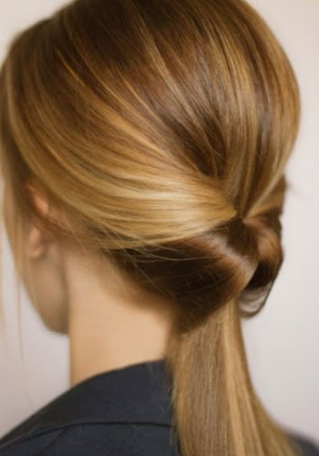 Fine 5 Inside Out Ponytail 7 Easy Hairstyles For The Busy Bridesmaid Short Hairstyles For Black Women Fulllsitofus