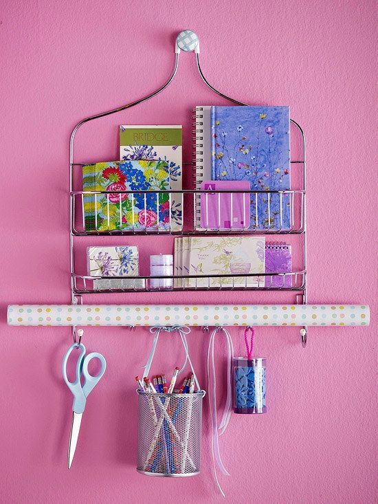 Use a Shower Caddy as Storage
