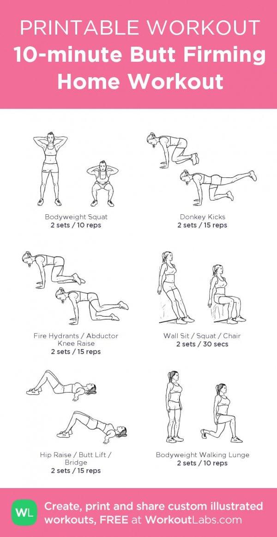 10-minute Butt Firming Workout