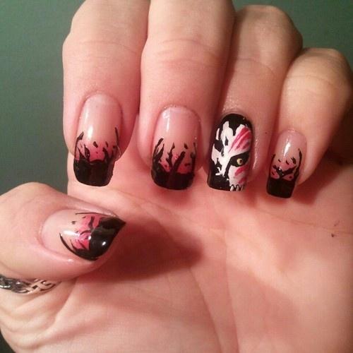 23 Really Cool Manga Nails All