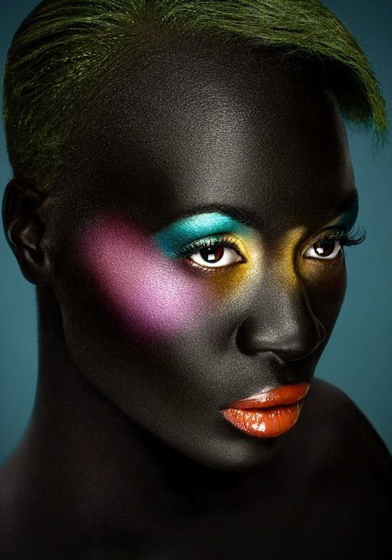 Darkest Africa Beauty Or Art Stunning Avant Garde
