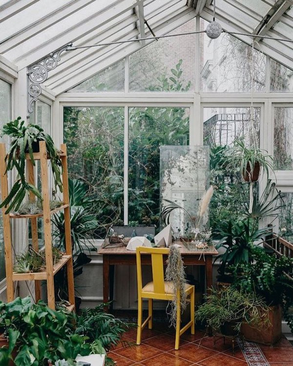 greenhouse, orangery, room, porch, outdoor structure,