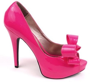 6. Going Gaga Hot Pink Patent Leather Pumps - 8 Hot High Heels That…