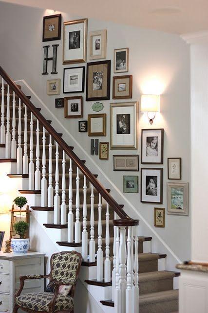 Aquí hay 30 totalmente Easy Photo Frame arreglos para tu casa ...