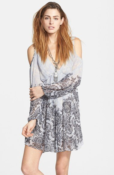 Free People Penny Love Print Dress