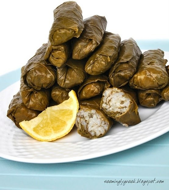 Dolmades – Stuffed Vine Leaves