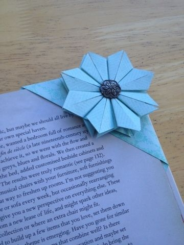 21 origami flower bookmark save my page 30 cute diy