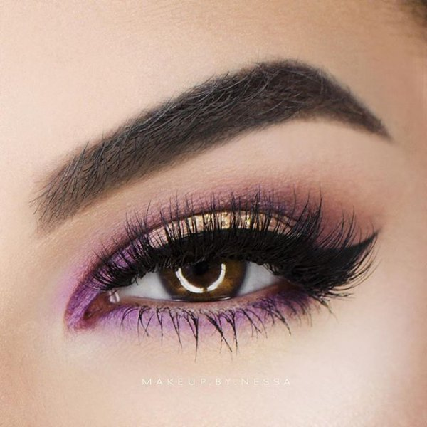 eyebrow, color, purple, eye, eyelash,