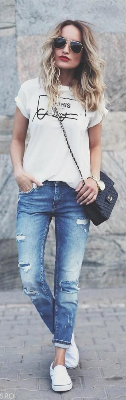 Back to Basics: Tee and Jeans