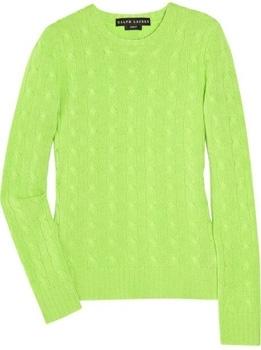 Ralph Lauren Black Label Cashmere Sweater - 7 Stylish Neon Accents…