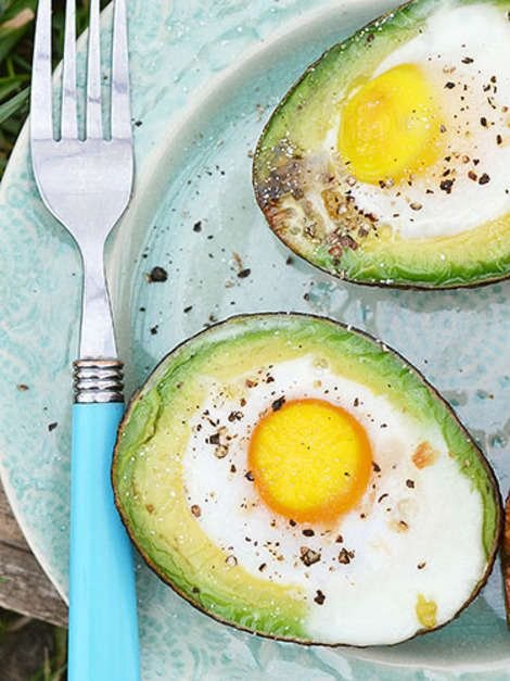 Egg and Avocado