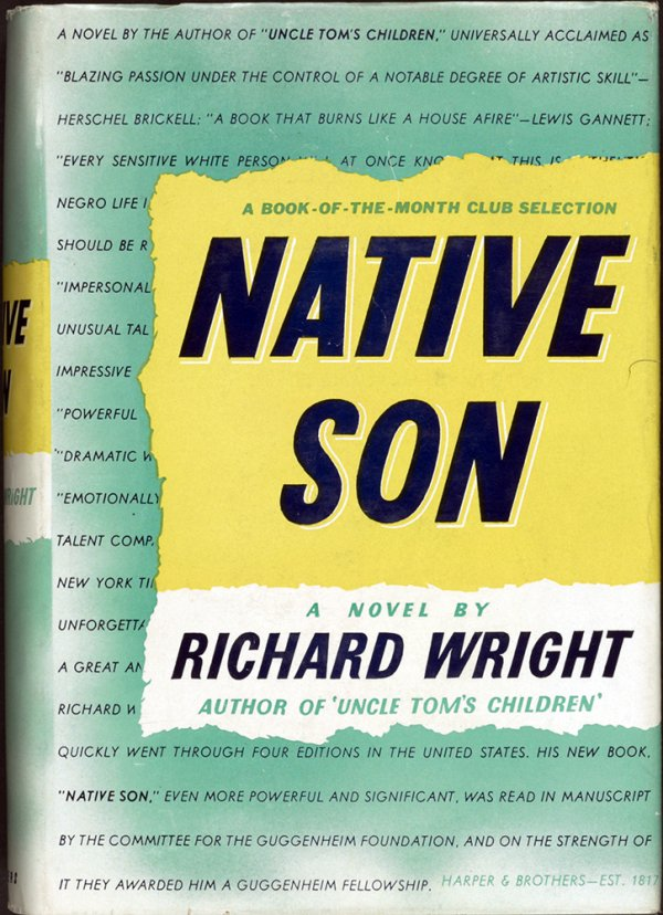 a review of the novel native son by richard wright Review of native son, by richard wright copyright 2007 â© by dan schneider richard wright's 1940 novel, native son, violates two of the basic tenets of modern mfa dogma.