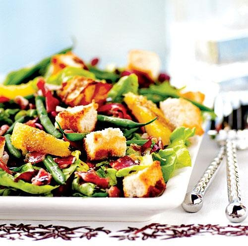 17. Radicchio, Haricots Verts, and Sweet Lettuce Salad - You'll Never ...