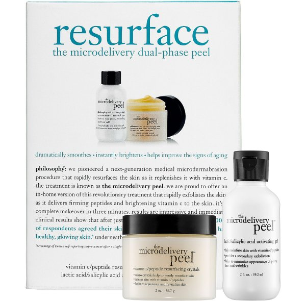 Philosophy Resurface: the Microdelivery Peel