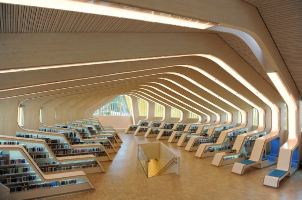 The Vennesla Library and Culture House, Norway