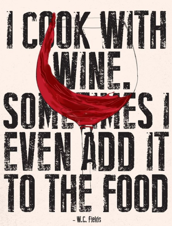Cooking with Wine - Carpe Vinum! These Quotes about Wine Will?